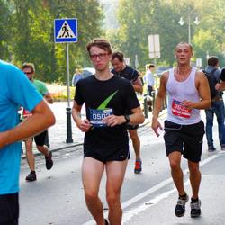 11th Danske Bank Vilnius Marathon - Daumantas Jakas (502), Erlandas Slavinskas (3633)