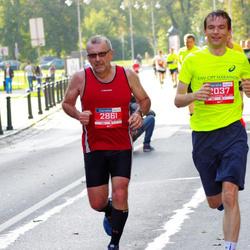 11th Danske Bank Vilnius Marathon - Vaidotas Okulic-Kazarinas (2037), Frank Matthijssen (2861)
