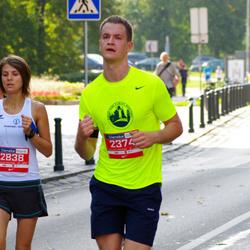 11th Danske Bank Vilnius Marathon - Tomas Morozovas (2374), Dovile Venckute (2838)
