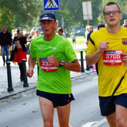 11th Danske Bank Vilnius Marathon - Richard Brown (2331), Arturas Novikovas (3705)