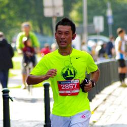 11th Danske Bank Vilnius Marathon - Hidenori Morii (2867)