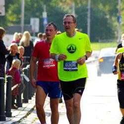 11th Danske Bank Vilnius Marathon - Maik Hoeth (306), Andrius Baukys (3882)