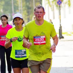 11th Danske Bank Vilnius Marathon - Genowefa Lange (216), Svaigedas Stoškus (2530)