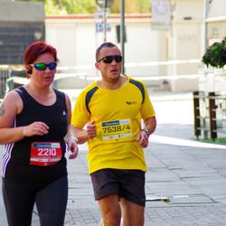 11th Danske Bank Vilnius Marathon - Rita Ciceniene (2210), Kestutis Žakevicius (75384)