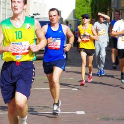 11th Danske Bank Vilnius Marathon - Danielius Bondorovas (10722), Viktoras Mažeika (11310), Egidijus Lebedžinskas (30544)