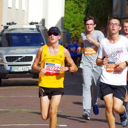11th Danske Bank Vilnius Marathon - Danielius Bondorovas (10722), Rolandas Riškus (12407), Egidijus Lebedžinskas (30544), Lukas Rakauskas (31196)