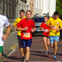 11th Danske Bank Vilnius Marathon - Gabriele Paužaite (10474), Tomas Zalatoris (30780), Dalius Virbickas (31529)