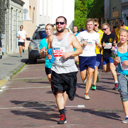 11th Danske Bank Vilnius Marathon - Kristian Mozes (11947), Rima Raišelyte (20769), Rafal Kulakovski (21107)