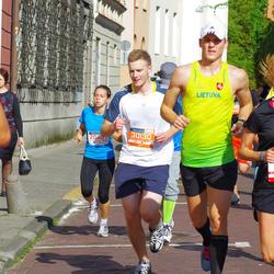 11th Danske Bank Vilnius Marathon - Jolanta Verseckaite (11561), Paulius Obelenis (30130)