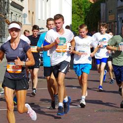 11th Danske Bank Vilnius Marathon - Justas Berškys (30294), Saulė Valantiejūtė (31715)
