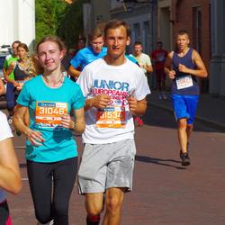 11th Danske Bank Vilnius Marathon - Milda Kaušpėdaitė (31046), Emilis Valentinaitis (31534)