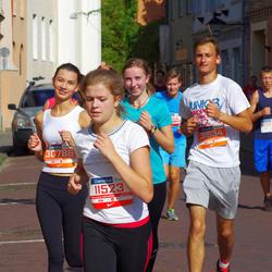 11th Danske Bank Vilnius Marathon - Emilija Cypaite (11523), Augustė Augustinaitė (30786), Emilis Valentinaitis (31534)