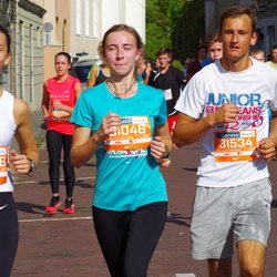 11th Danske Bank Vilnius Marathon - Augustė Augustinaitė (30786), Emilis Valentinaitis (31534)