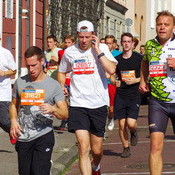 11th Danske Bank Vilnius Marathon - Rokas Mikalauskas (12323), Dainoras Šimkus (12657), Ričardas Būrė (31621)