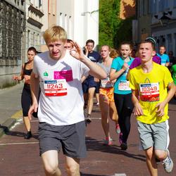 11th Danske Bank Vilnius Marathon - Daumantas Zdanovicius (10349), Juozas Dudutis (11243)