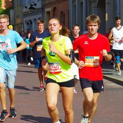 11th Danske Bank Vilnius Marathon - Inga Zuzeviciute (10740), Justas Kondratavicius (21119), Gintaras Kybartas (30242)