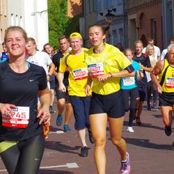 11th Danske Bank Vilnius Marathon - Migle Muraškaite (11407), Paulius Šomka (12081)