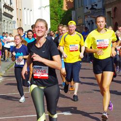 11th Danske Bank Vilnius Marathon - Migle Muraškaite (11407), Aleksandr Tolstoj (12095), Zana Juozenate (12745)