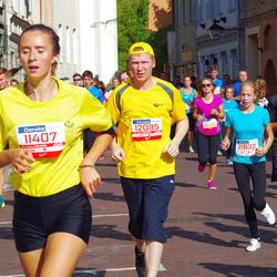 11th Danske Bank Vilnius Marathon - Migle Muraškaite (11407), Aleksandr Tolstoj (12095), Saimonas Zagrapskas (21832)