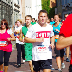 11th Danske Bank Vilnius Marathon - Jolita Levickiene (10522), Lukas Dronišinec (21224)