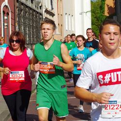 11th Danske Bank Vilnius Marathon - Jolita Levickiene (10522), Lukas Dronišinec (21224), Arminas Jurys (30647)