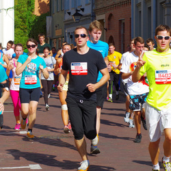 11th Danske Bank Vilnius Marathon - Linas Rumbaitis (11114), Vilma Kubile (11336), Aleksis Lapins (11403)