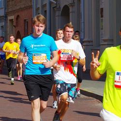 11th Danske Bank Vilnius Marathon - Donatas Daublys (11209), Povilas Kavaliauskas (30124)