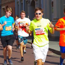 11th Danske Bank Vilnius Marathon - Aleksis Lapins (11403), Justas Venckunas (12818), Povilas Kavaliauskas (30124)