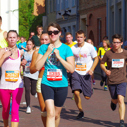 11th Danske Bank Vilnius Marathon - Une Kaunaite (11395), Gabrielius Lapinskas (20814), Kotryna Daugytė (30421)