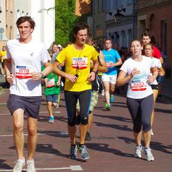 11th Danske Bank Vilnius Marathon - Arvydas Cepulis (11178), Eva Mindiul (11423), Sigitas Mackonis (12108)