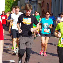 11th Danske Bank Vilnius Marathon - Galina Segeniene (10025), Marius Čeponis (30012)
