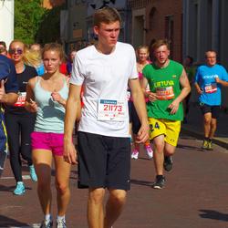 11th Danske Bank Vilnius Marathon - Mangirdas Stukas (21173), Lukas Kerušauskas (31073)