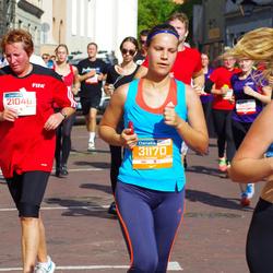 11th Danske Bank Vilnius Marathon - Vilija Vadopaliene (21046), Giedrė Kvilonaitė (31170)