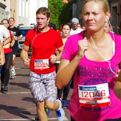 11th Danske Bank Vilnius Marathon - Lukas Danielevicius (10584), Neringa Karaliute (12046)