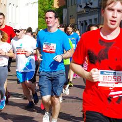 11th Danske Bank Vilnius Marathon - Žilvinas Bucmys (10591), Jonas Patkamaris (10948), Agne Gasiunaite (20254)