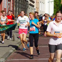 11th Danske Bank Vilnius Marathon - Živile Rakickaite (11855), Ieva Savickaite (20815)