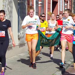 11th Danske Bank Vilnius Marathon - Živile Rakickaite (11855), Kristina Gudelis (12065), Laurita Markeviciute (21340)