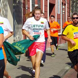 11th Danske Bank Vilnius Marathon - Juan Martin Gomez Gutierrez (10755), Živile Rakickaite (11855), Ieva Savickaite (20815)