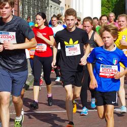 11th Danske Bank Vilnius Marathon - Artiom Pletniov (10034), Ignas Vaiciunas (20343), Paulius Peciukonis (21181)