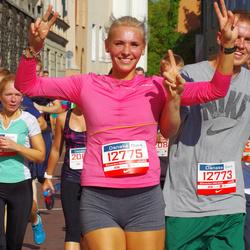 11th Danske Bank Vilnius Marathon - Rapolas Bruzgulis (12773), Monika Perlibaite (12775)