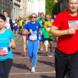 11th Danske Bank Vilnius Marathon - Ruta Šeštokaite (10780), Sandra Vaišyte-Vaiciuliene (11854)