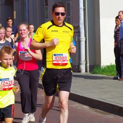 11th Danske Bank Vilnius Marathon - Thibaud Gallego (10980), Jonas Turulis (12428)