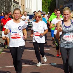 11th Danske Bank Vilnius Marathon - Irena Mikalauskiene (11181), Reda Kašelionyte (11986), Jolvita Briazkalaite (20822)