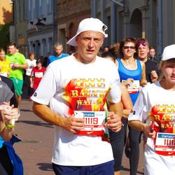 11th Danske Bank Vilnius Marathon - Sandra Girdauskiene (11118), Giedrius Girdauskas (11119)