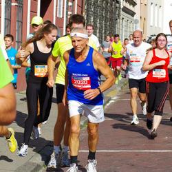 11th Danske Bank Vilnius Marathon - Romualdas Limantas (2030), Paulina Jasiunaite (10571)