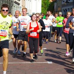 11th Danske Bank Vilnius Marathon - Tomas Kazakevicius (10375), Paulina Jasiunaite (10571), Rasa Kundrotiene (11217)