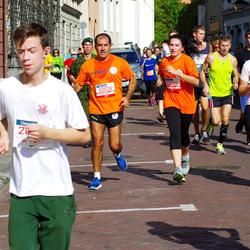11th Danske Bank Vilnius Marathon - Pavlos Pavlou (10129), Ramune Klinceviciute (10130)