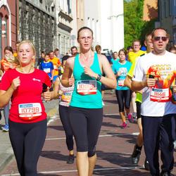 11th Danske Bank Vilnius Marathon - Asta Aleknaite (10006), Monika Galaburdaite (10799), Tomas Meškinis (11146)