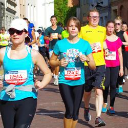 11th Danske Bank Vilnius Marathon - Egle Klybaite (11514), Milda Kederyte (12410)