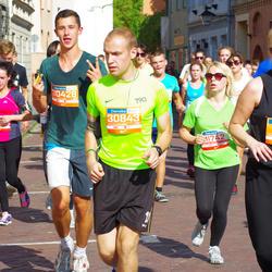 11th Danske Bank Vilnius Marathon - Lukas Buitkus (30428), Eimantas Kadys (30843), Greta Krivickaitė (31210)